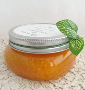 scrub din miere cristalizata