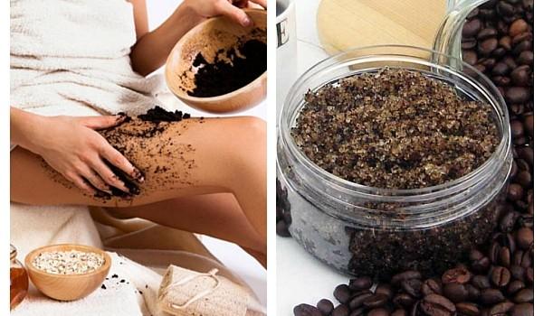 Când vine vorba de celulită, nimic nu acționează mai eficient decât scrubul din zaț de cafea.