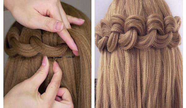 Îți place să-ți creponezi părul? Atunci, această împletitură îți va fi cu siguranță pe plac!