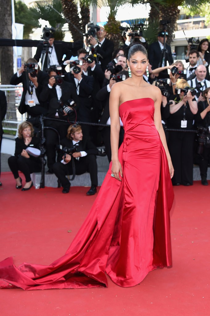 Chanel-Iman tinuta Cannes