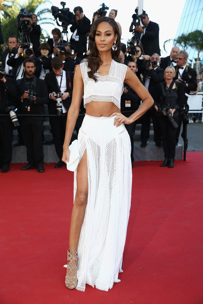 Joan-Smalls tinuta Cannes