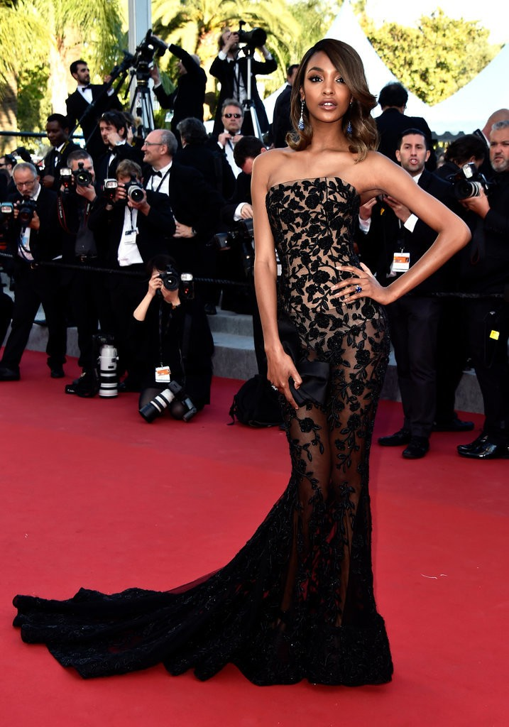 Jourdan-Dunn tinuta Cannes