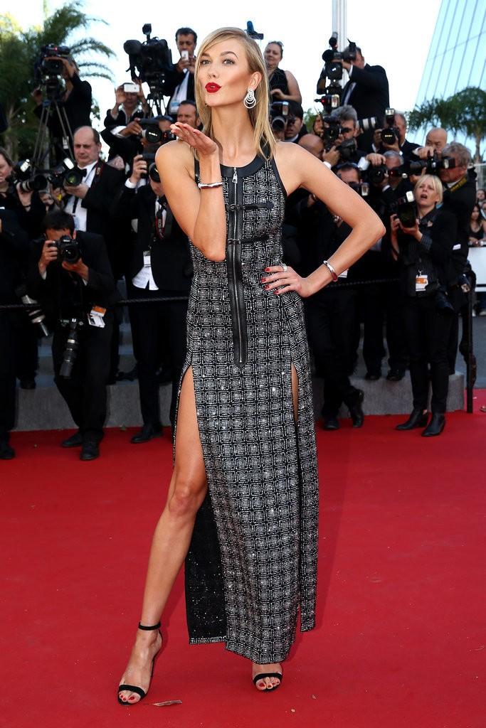 Karlie-Kloss tinuta Cannes