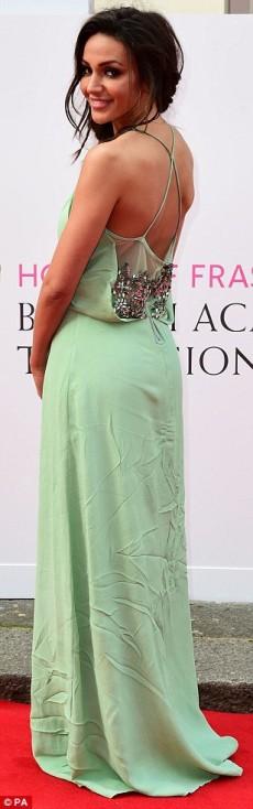 Michelle Keegan tinuta neinspirata la gala Bafta Tv