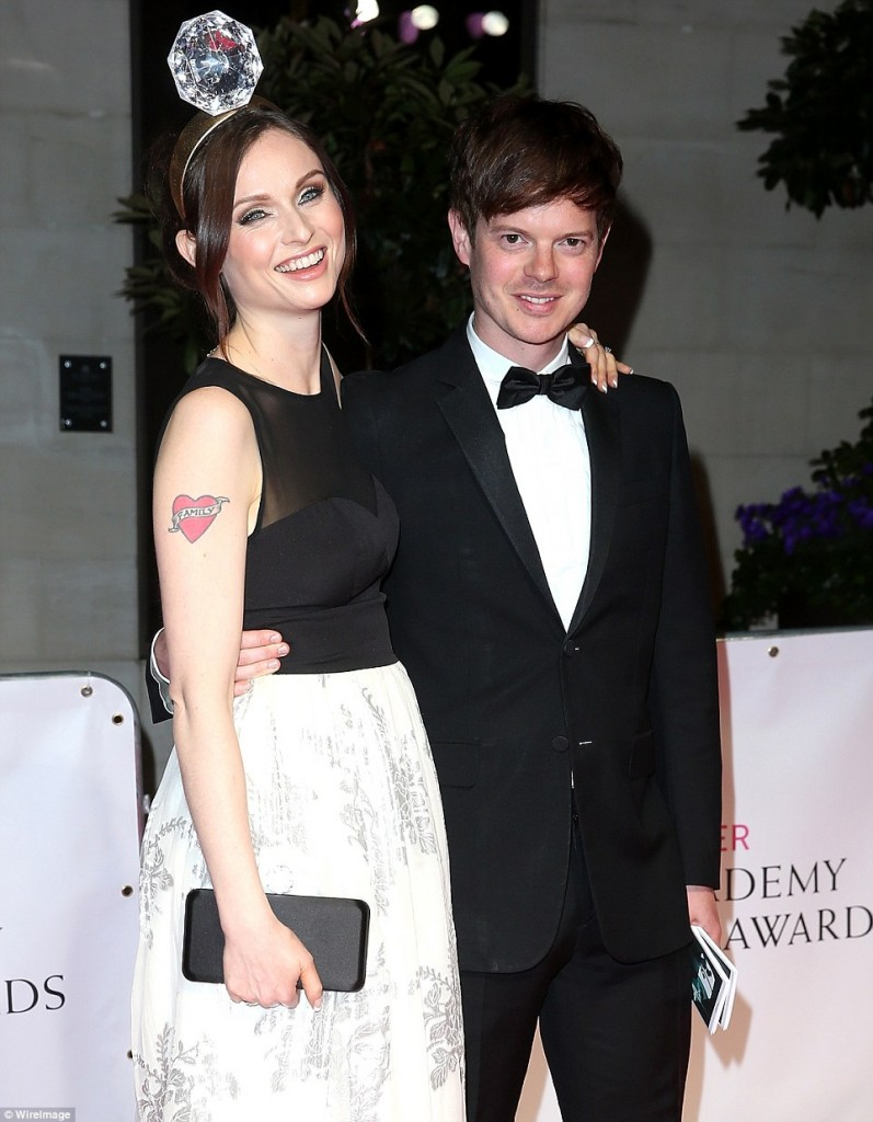 Sophie Ellis tinuta neinspirata la premiile Bafta