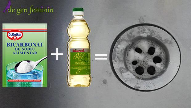 Miros neplăcut de la chiuvetă? Bicarbonatul de sodiu este cea mai bună soluție pentru această problemă. Iată cum trebuie să îl foloseşti!