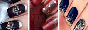 Cele mai frumoase modele de unghii pentru Sărbătorile de Iarnă