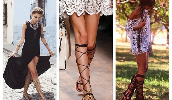Încălțămintea la modă a acestei veri este una extrem de confortabilă: sandalele gladiator. Vezi cele mai interesante modele!