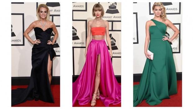 Vedetele prezente la gala de decernare a premiilor Grammy au dat startul tendințelor în modă ale anului 2016. Divele au mizat pe senzualitate și astfel au purtat rochii menite să le pună în evidență calitățile fizice.