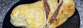 Rețetă de inimioare din foietaj umplute cu Nutella